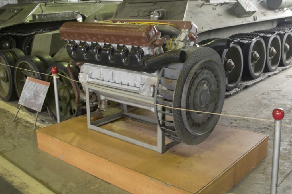Двигатель Т-34